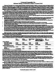 CCI Base Prospectus PDF
